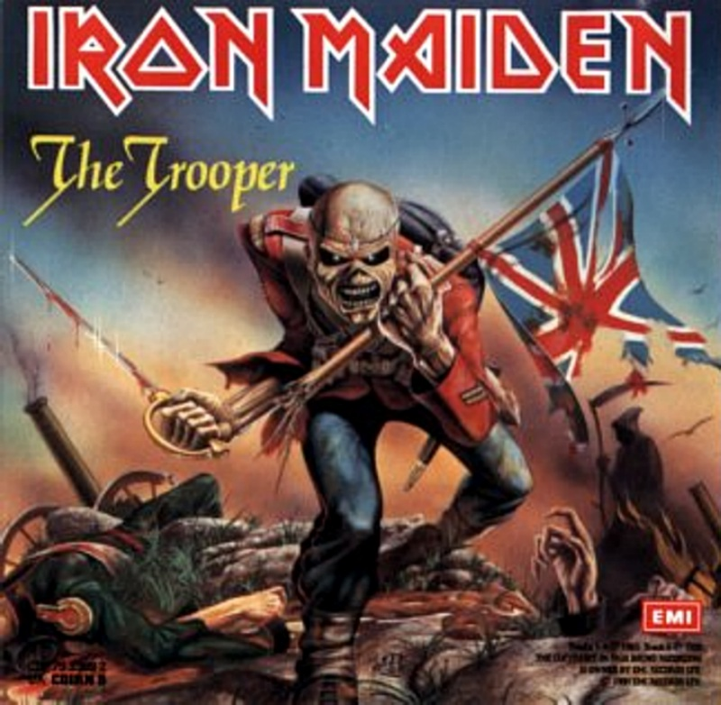 Thread: 'EDDIE' (Iron Maiden mascot) WIP Iron Maiden Trooper Wallpaper